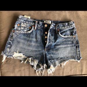 Size 27 Agolde Parker shorts